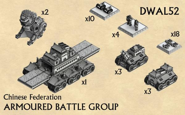 (Alliance Nations) Chinese Federation Armoured Battle Group