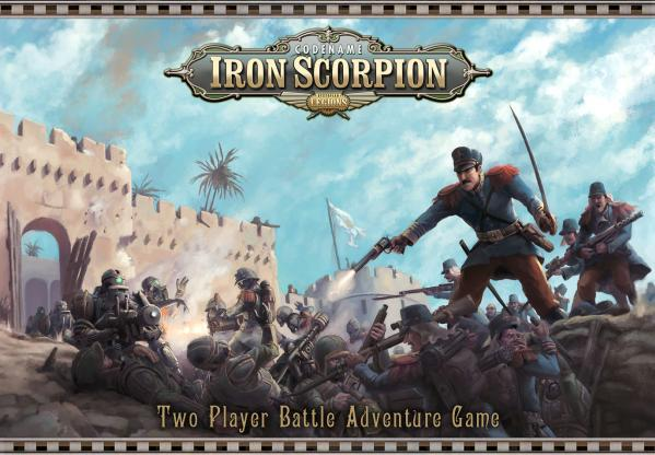 Codename Iron Scorpion (Two Player Battle Adventure Game)