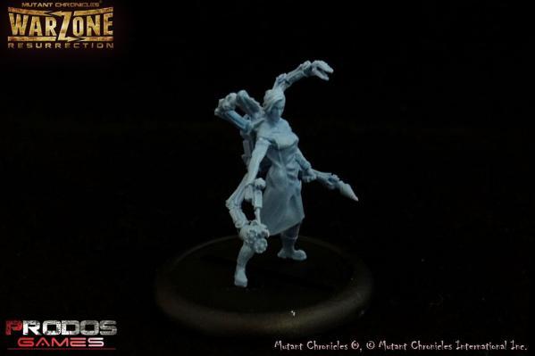 Warzone Resurrection: (Cybertronic) Dr. Diana, Commander