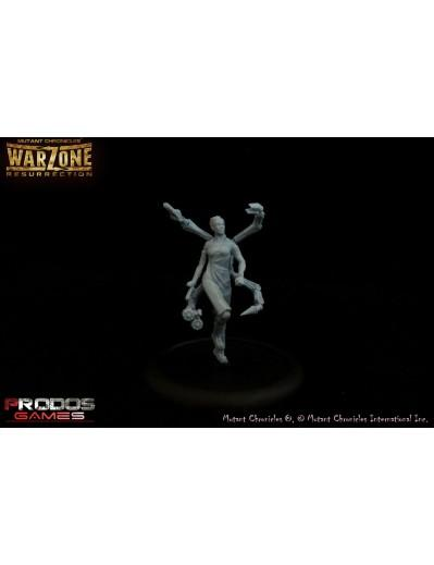Warzone Resurrection: (Cybertronic) Dr. Diana, Neoclone (2)