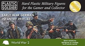 15mm WWII (German): Early War German Infantry 1939-42