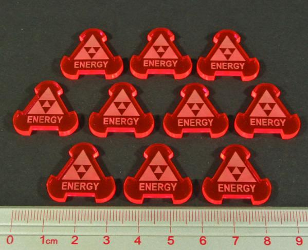 Space Fighter, Energy Tokens (10)