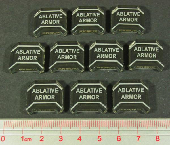 Space Wing, Ablative Armor Tokens (10)