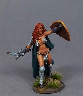 Visions In Fantasy: Female Barbarian