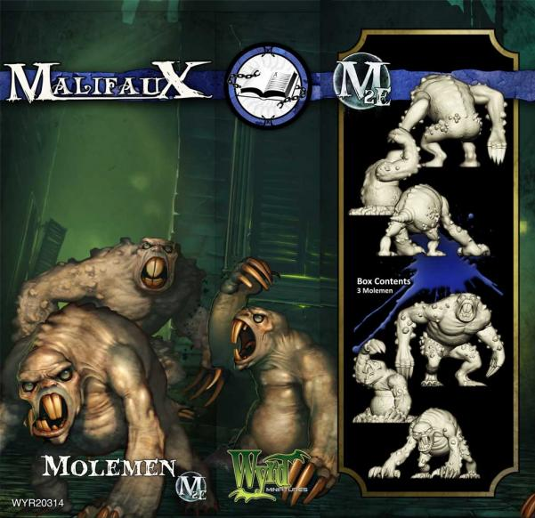 Malifaux: (The Arcanists) Moleman (3)