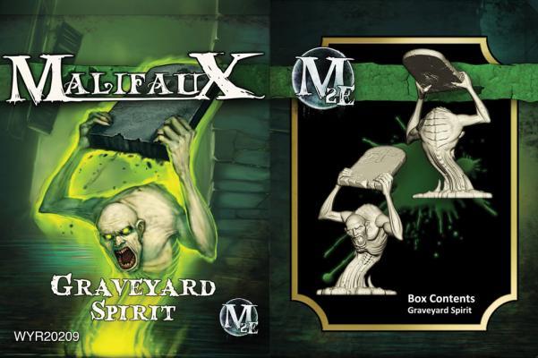 Malifaux: (The Resurrectionists) Graveyard Spirit