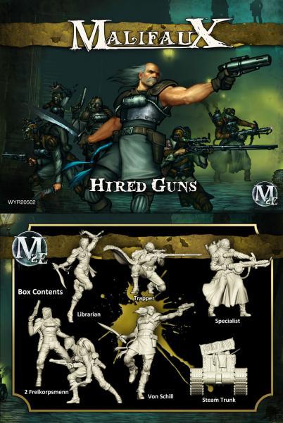 (The Outcasts) Hired Guns (Von Schill Box Set)
