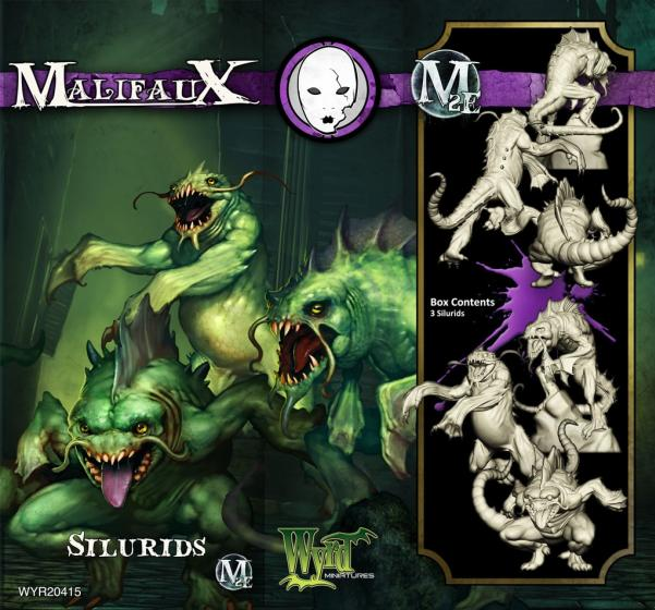 Malifaux: (The Neverborn) Silurid