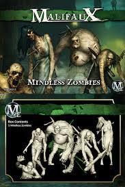 Malifaux: (The Resurrectionists) Mindless Zombie