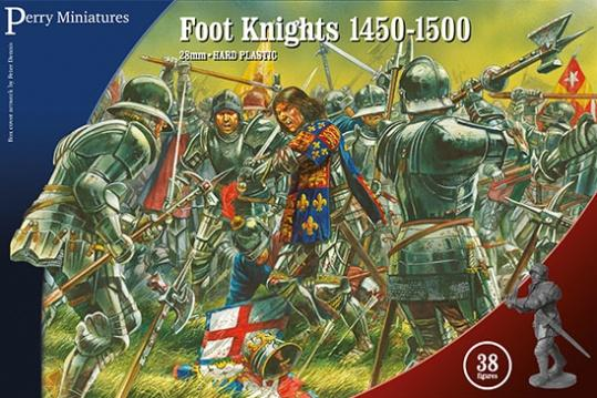 28mm Wars Of The Roses: Foot Knights 1450-1500