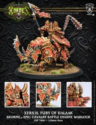Hordes: (Skorne) Xerxis, Fury Of Halaak Battle Engine