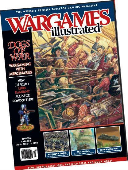 Wargames Illustrated Magazine #330