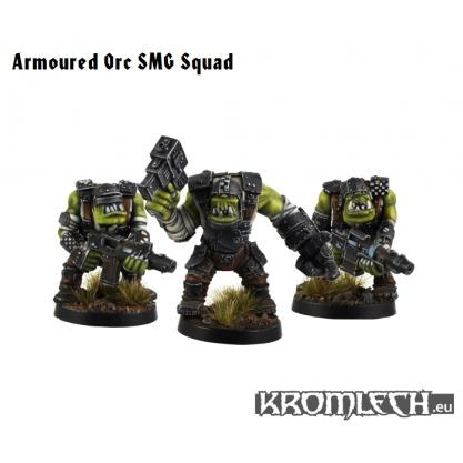 Kromlech Miniatures: Armored  Orc SMG Squad (10)