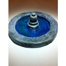 28mm Hand Painted Terrain Accessories: Round Fountain (3.25'')