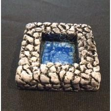 28mm Hand Painted Terrain Accessories: 2'' x  2'' Square Pool (Set of 2)