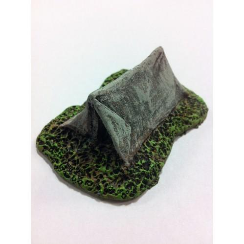 28mm Hand Painted Terrain Accessories: Small Tent