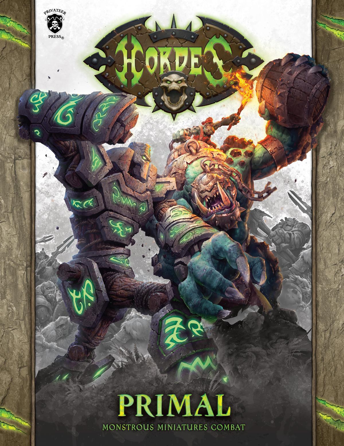 Hordes: Primal Rulebook - Monstrous Miniatures Combat