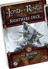 Lord of the Rings LCG: The Redhorn Gate Nightmare Deck