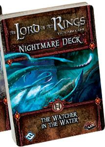 Lord of the Rings LCG: The Watcher in the Water Nightmare Deck