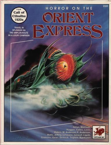 Call of Cthulhu RPG: Horror on the Orient Express Boxed Set