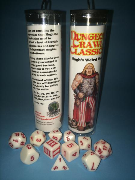 Dungeon Crawl Classics RPG: Hugh's Weird Dice Set