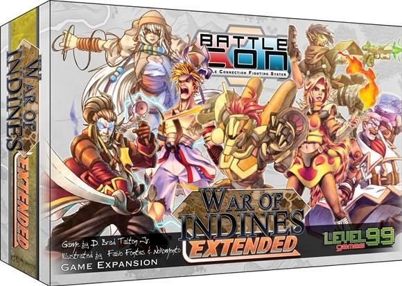BattleCON Expansion: War of Indines Extended