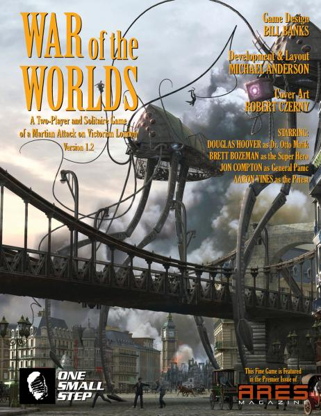 Ares Magazine: #1 War Of The Worlds (Full Hobby Edition) (Game Included)
