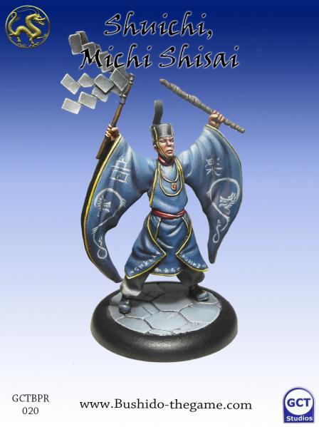 Bushido Miniatures: (Prefecture Of Ryu) Shuichi Michi Shisai