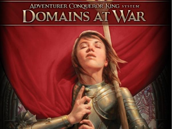 Adventurer Conquer King System RPG: Domains At War Compendium (HC)