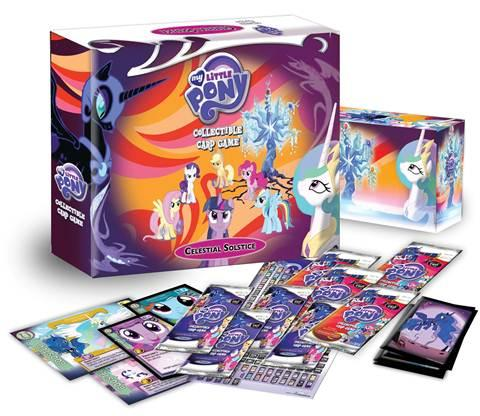 My Little Pony CCG: Celestial Solstice Deluxe Fat Pack Boxed Set [MLP]