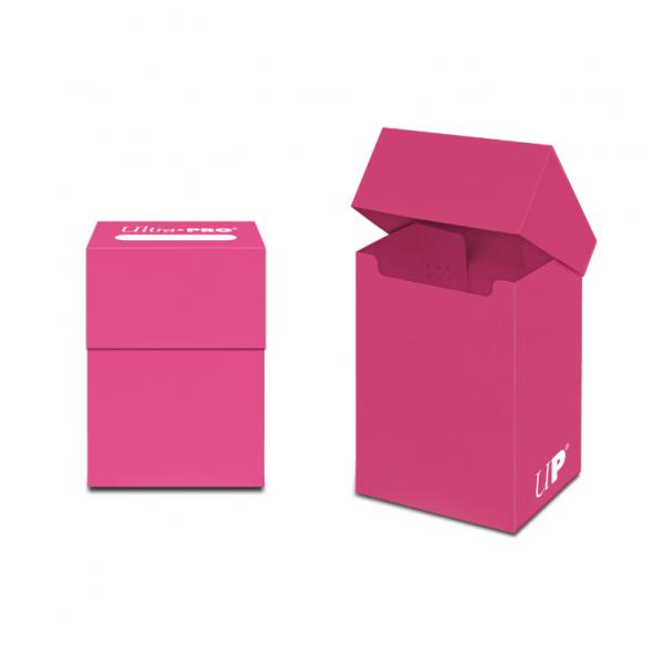 PRO 80+ Deck Box: Bright Pink