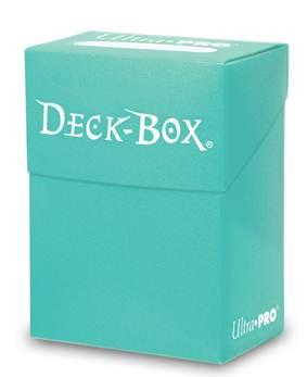 Ultra Pro: New Standard Solid Bright Aqua Deck Box