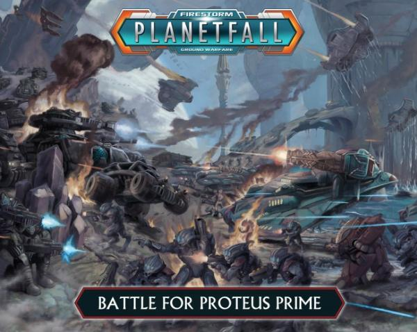 Battle For Proteus Prime Two Player Battle Box