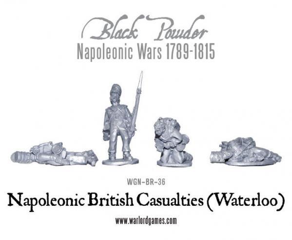 Black Powder (Napoleonic Wars): British Casualties (Waterloo) [Blister]