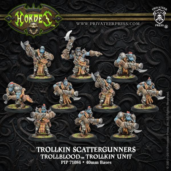 (Trollbloods) Scattergunners (10)