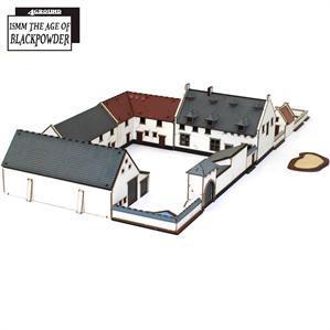 15mm The Age of Black Powder: La Haye Sainte Complex