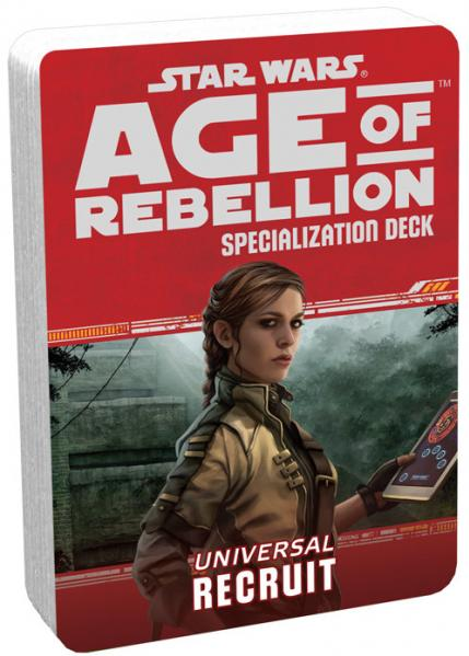 Age of Rebellion RPG: Recruit Specialization Deck
