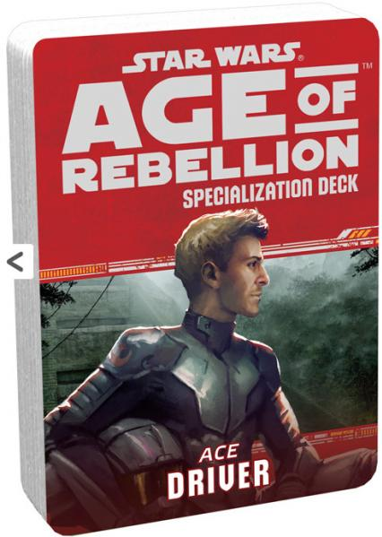 Age of Rebellion RPG: Driver Specialization Deck