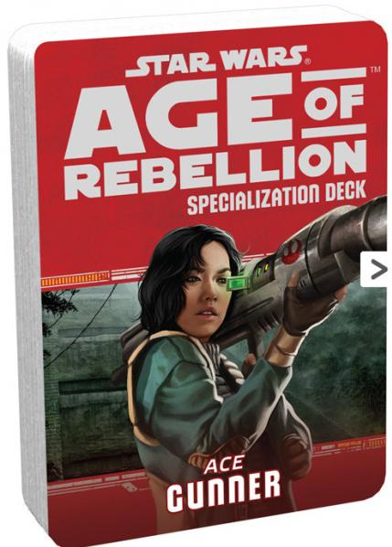 Age of Rebellion RPG: Gunner Specialization Deck