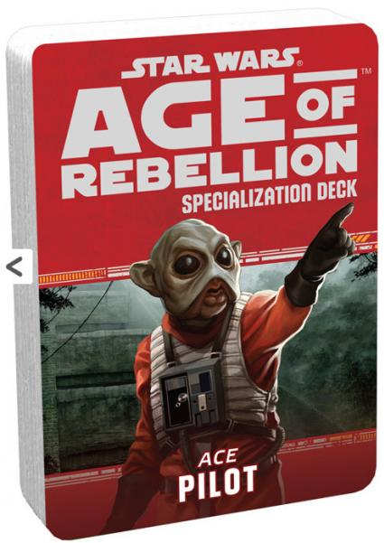 Age of Rebellion RPG: Pilot Specialization Deck