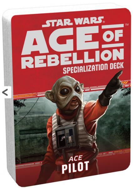 Age of Rebellion RPG: Pilot Specialization Deck