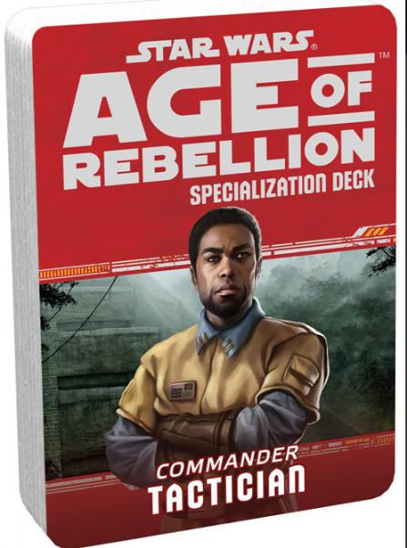 Age of Rebellion RPG: Tactician Specialization Deck