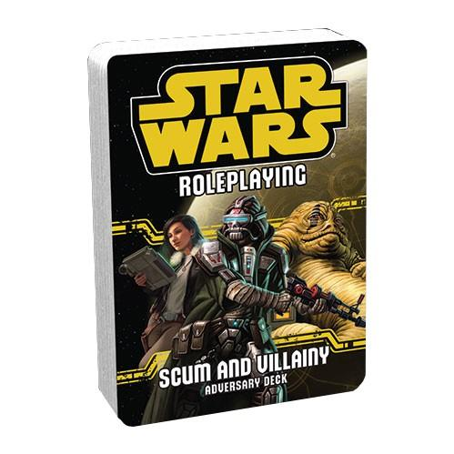 Star Wars RPG: Scum and Villainy Adversary Deck