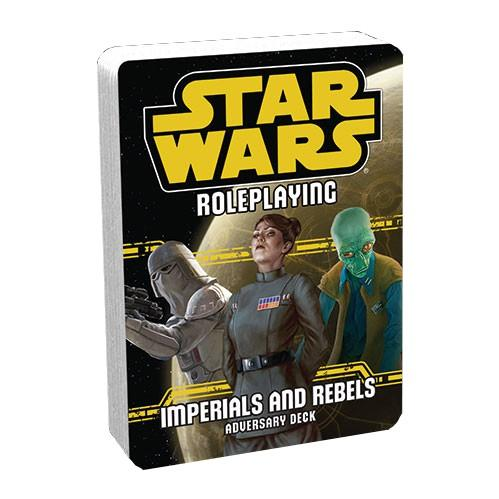 Star Wars RPG: Imperials and Rebels Adversary Deck