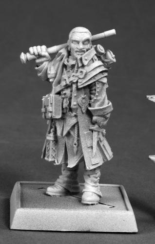Pathfinder Miniatures: Quinn, Iconic Investigator