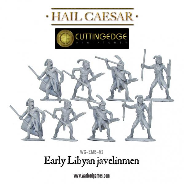 Hail Caesar - Egyptian: Early Libyan Javelinmen [Blister]