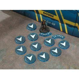 Bandua Accessories: Blue Regular Orders Markers