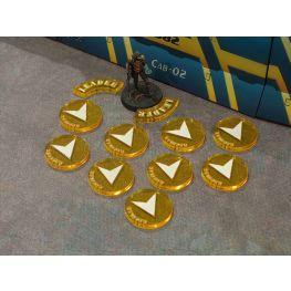 Bandua Accessories: Yellow  Regular Orders Markers