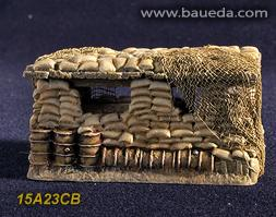 Cama Scenics (15mm WWII): Objective Observation Post