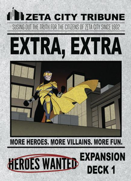 Heroes Wanted: Extra, Extra (Expansion)